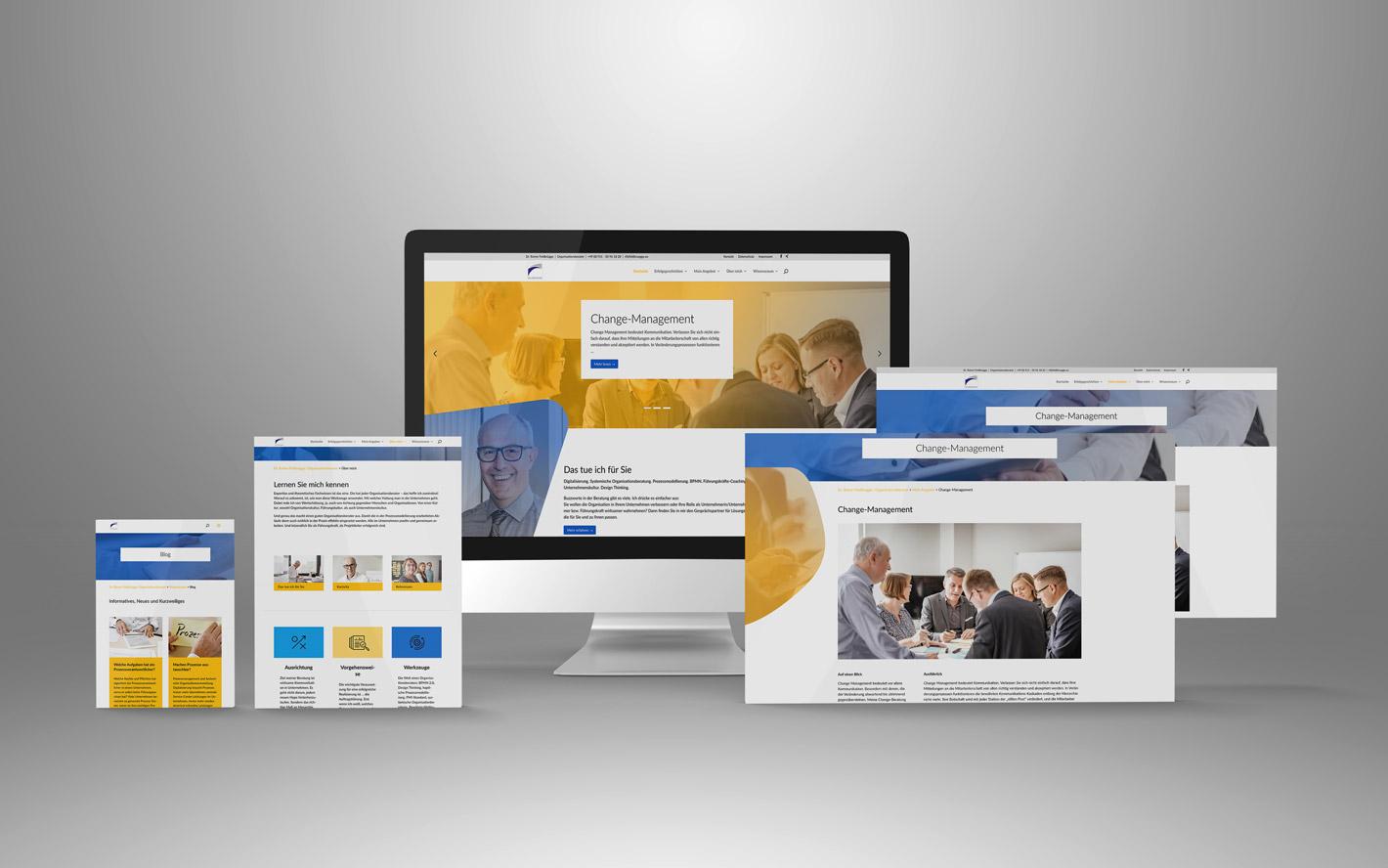 Website Organisationsberater Dr. Feldbruegge