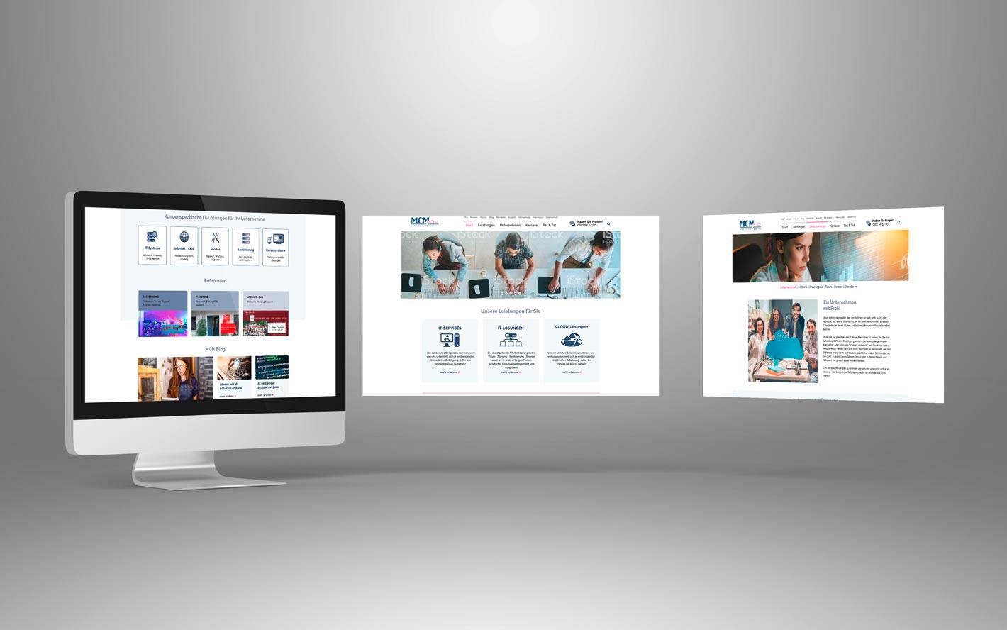 Micro Computer Managing Website