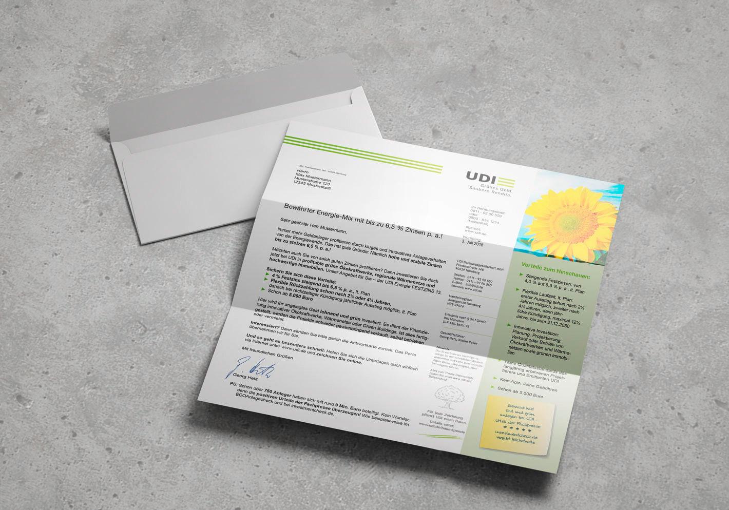 UDI Energie Mix Mailing