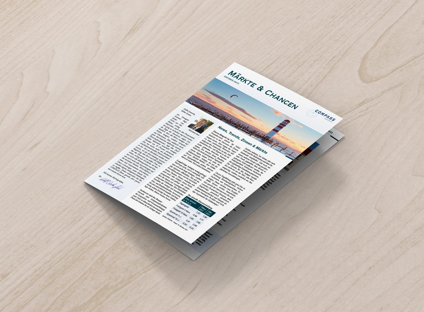 Kundenzeitschrift COMPASS front