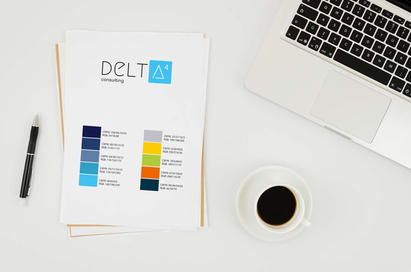 DELTA 4 Logo Finalentwurf