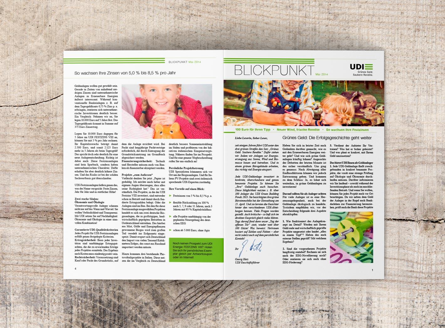 UDI Blickpunkt Cover
