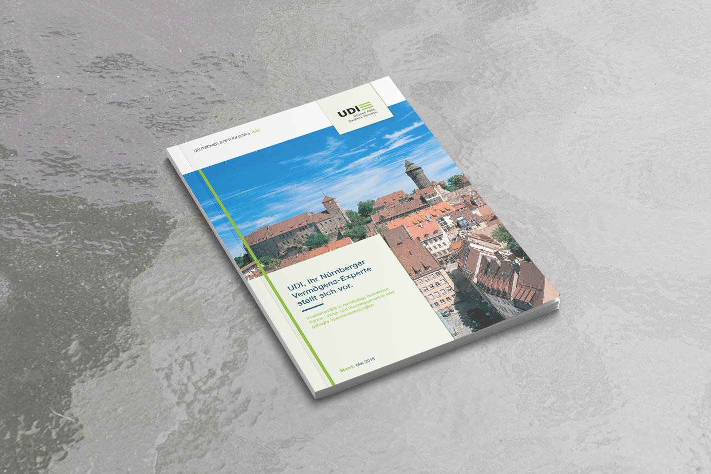 UDI Deutscher Stiftungstag Broschüre