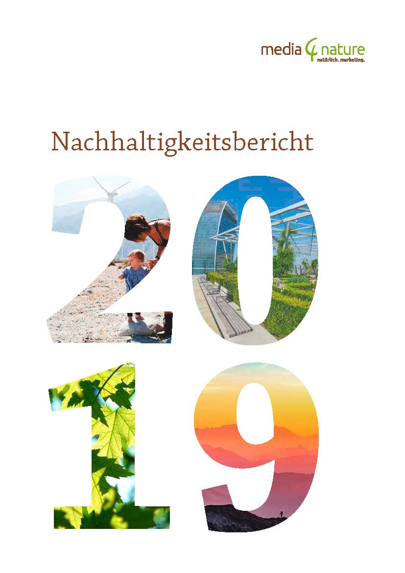 CSR Report media4nature GmbH 2019